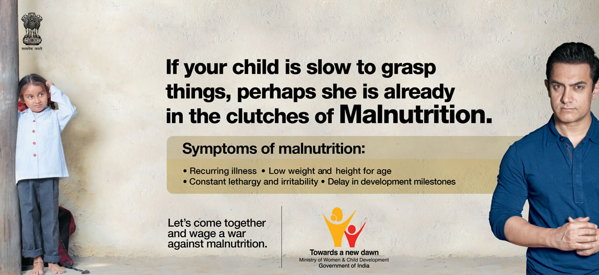If your child us slow to grasp things, perhaps she is already in the clutches of Malnutrition.